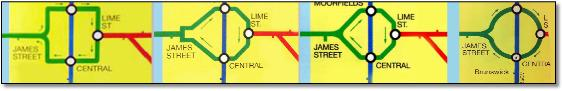 Merseyrail Liverpool loop variations