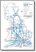 UK train map / diary size