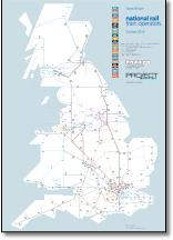 UK train map TOCs