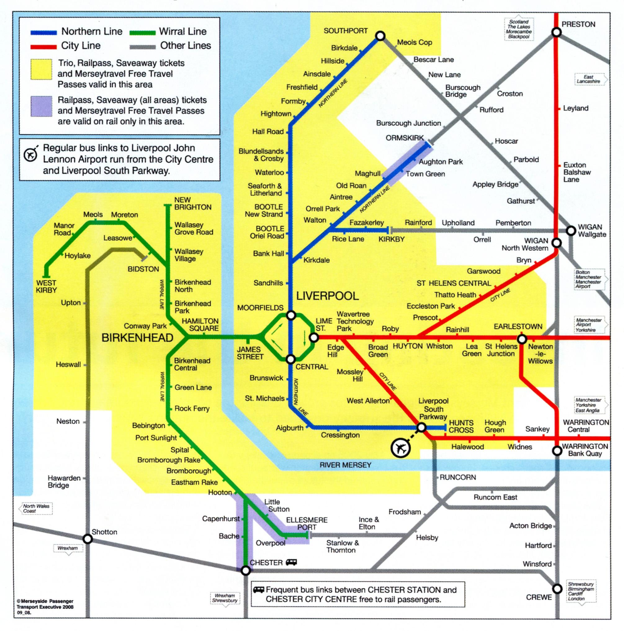 Exclusive Cool Circular Maps Of Liverpool Subway Umbrella Magazine