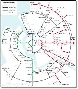 Merseyrail train rail maps and reviews